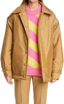 Meryll Rogge Oversize Padded Nylon Jacket