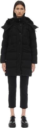 Peuterey Guardian Cotton Blend Down Jacket W/Fur