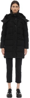 Peuterey GUARDIAN COTTON BLEND DOWN JACKET W/FUR