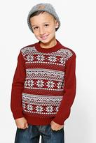 Boohoo Boys Fairisle Jumper