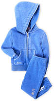 Butter Shoes Toddler Girls) Two-Piece Hoodie & Sweatpants Set