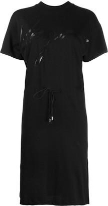 HUGO BOSS Drawstring Midi Dress