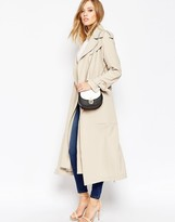 Asos Trench with Double Layer Detail