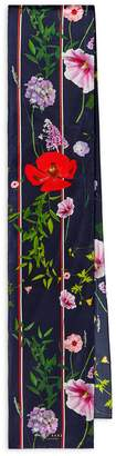 Ted Baker Hedgerow Floral Skinny Scarf
