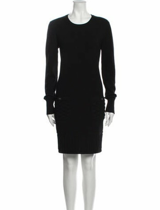 Chanel 2013 Knee-Length Dress Black