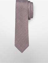 Calvin Klein Steel Fine Red Hot Grid Tie