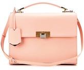 Balenciaga Le Dix Pochette Cartable Leather Shoulder Bag