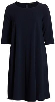 Marina Rinaldi, Plus Size Drop Woven A-Line Dress