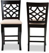 Nisa 2Pc Counter Stool Set