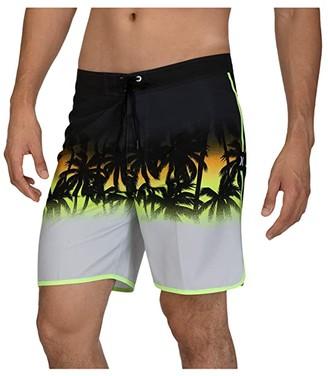Hurley 18 La Playa Boardshorts (Black) Men's Swimwear