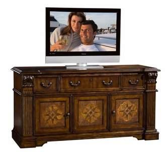 Laredo Sligh TV Stand for TVs up to 75 inches Sligh