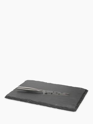 Boska Cheese Board and Knife Set, Slate