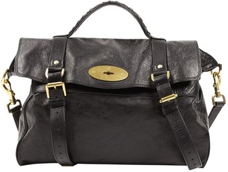 Mulberry Alexa Black Leather Handbags