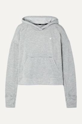 Nike Element Striped Dri-fit Hoodie - Gray