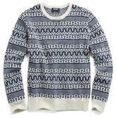 Todd Snyder Wool Fairisle Sweater in Navy/Cream