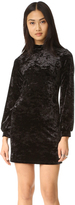 Only Hearts Velour Mini Dress