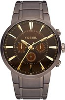 Fossil Men's FS4357 Stainless Steel Bracelet Analog Dial Chronograph Watch