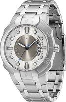 Police PL-13396JS-04M Men's Genesis Silver Dial Stainless Steel Bracelet Watch