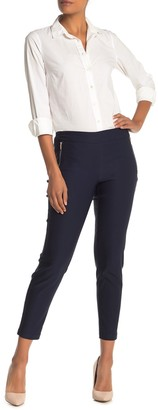 Nanette Lepore Nanette Zippered Pull-on Leggings
