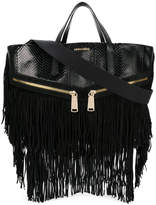DSQUARED2 fringed Rock tote