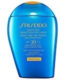 Shiseido Wetforce Expert Sun Aging Protection Lotion SPF 30 100ml (PACK OF 6)