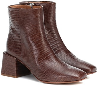 LOQ Lazaro leather ankle boots