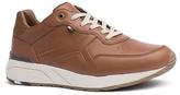 Tommy Hilfiger Tan Leather Tread Sneaker
