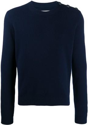 Zadig & Voltaire Button-Shoulder Jumper