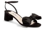 Miu Miu Women's Strappy Bow Sandal