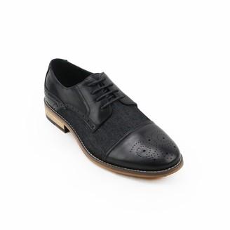 X-Ray Media Men's Cap Toe Dress Shoes