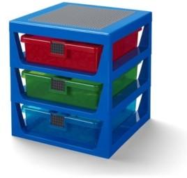 Lego 3 Drawer Storage Rack