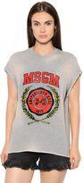 MSGM Printed Cotton Jersey Sweatshirt