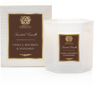 Antica Farmacista Vanilla Bourbon and Mandarin Hexagonal Candle