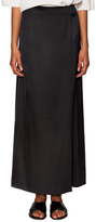 Helmut Lang Satin Overlay Maxi Skirt