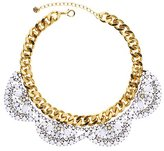 Juicy Couture Flower Cluster Collar Necklace