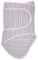 Miracle Blanket Chevron Swaddle in Pink/Grey