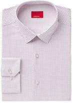 Alfani Men's Slim-Fit Stretch Square Dot Print Dress Shirt, Created for Macy's