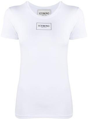 Iceberg logo print T-shirt