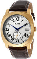 A Line Women's AL-80023-YG-02-BR Square Watches
