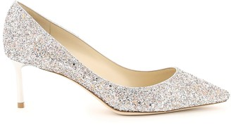 Jimmy Choo Romy 60 Speckled Glitter Pumps