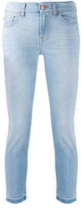 7 For All Mankind Roxanne Ankle Unrolled cropped jeans