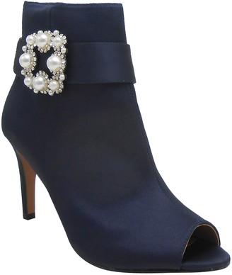 J. Renee Pranati Embellished Open Toe Bootie