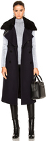 3.1 Phillip Lim Long Shearling Collar Vest