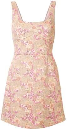 Rebecca Vallance Stella floral mini dress