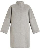 Thumbnail for your product : Marina Rinaldi, Plus Size Tamoa Neoprene Cocoon Coat