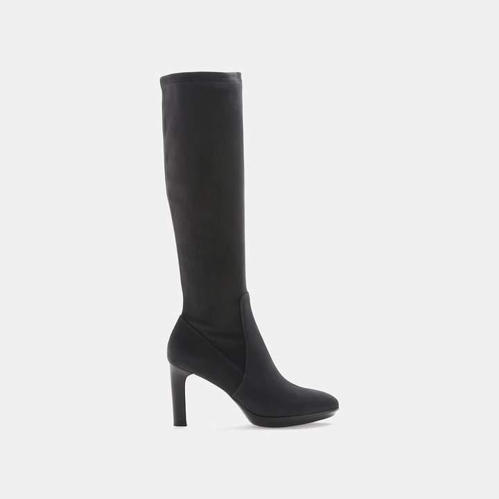 Aquatalia Rumbah Stretch Suede Knee-High Boot