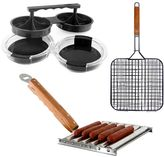 Mr. Bar-B-Q hot dog & hamburger cookin' set