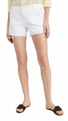 Paige Women's MAYSLIE Utility HIGH Rise Relaxed Short