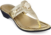 Marc Fisher Amina Thong Sandals