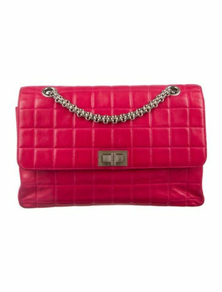 Chanel Square Quilt Reissue 225 Flap Bag Pink